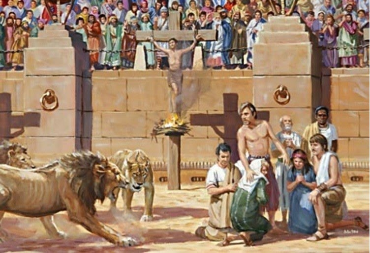 Roman persecution of True Gospel Christians