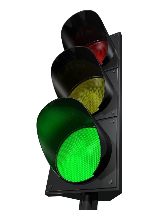 Traffic lights symbolizing the function of our CONSCIENCE.